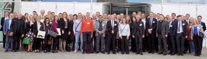 Gruppenbild der Teilnehmerinnen und Teilnehmer am Praxistag Wissensmanagement und Innovation 2015 des Bundesverwaltungsamtes in Berlin